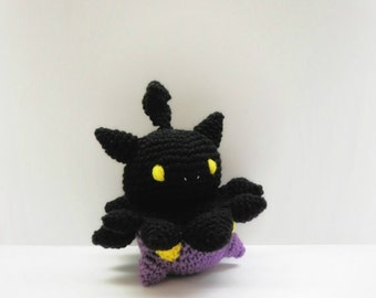 Crochet Pumpkaboo Inspired Chibi Pokemon