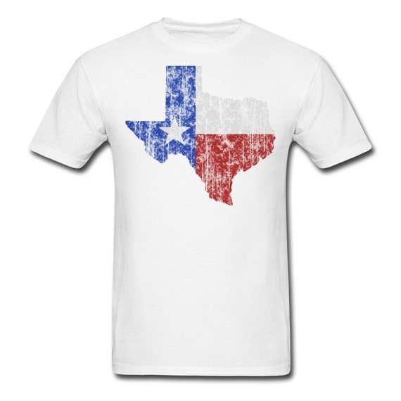 Texas flag t shirt dallas fort worth houston san antonio for Shirt printing in san antonio