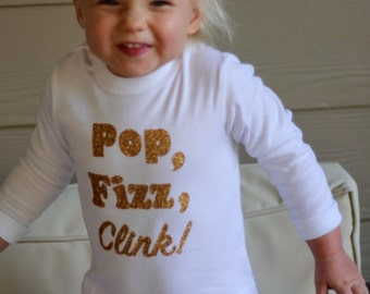 """Children's """"Pop, Fizz, Clink!"""" Tee"""