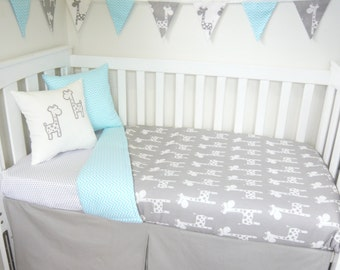 Giraffe nursery set - Choose your own colour scheme
