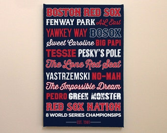 Boston Red Sox - Canvas or Poster