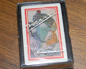 Picasso Playing Cards in Box Vintage