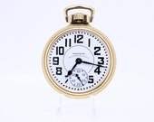 Waltham Vaguard 23 Jewel 10K Goldfilled Pocket Watch