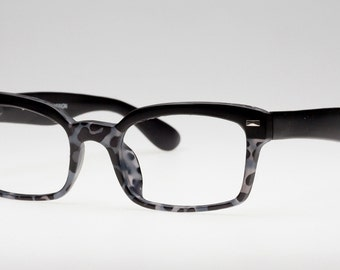 Tortoise Grey Eyeglasses Frame, Matte Black and Grey Glasses, Reading Glasses, Eyeglass Frames, Designer Reading Glasses, Eyejets Eyewear
