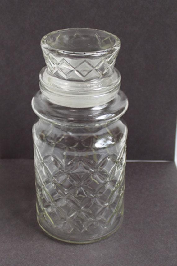 Vintage Glass Jar 70