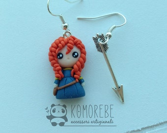 Merida, Rebel-The Brave, Earrings