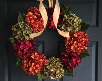 Wreath Decor | WREATH | Front Door Wreaths | Fall Decor | Outdoor Fall Wreath | Wreath | New Home Housewarming Gift