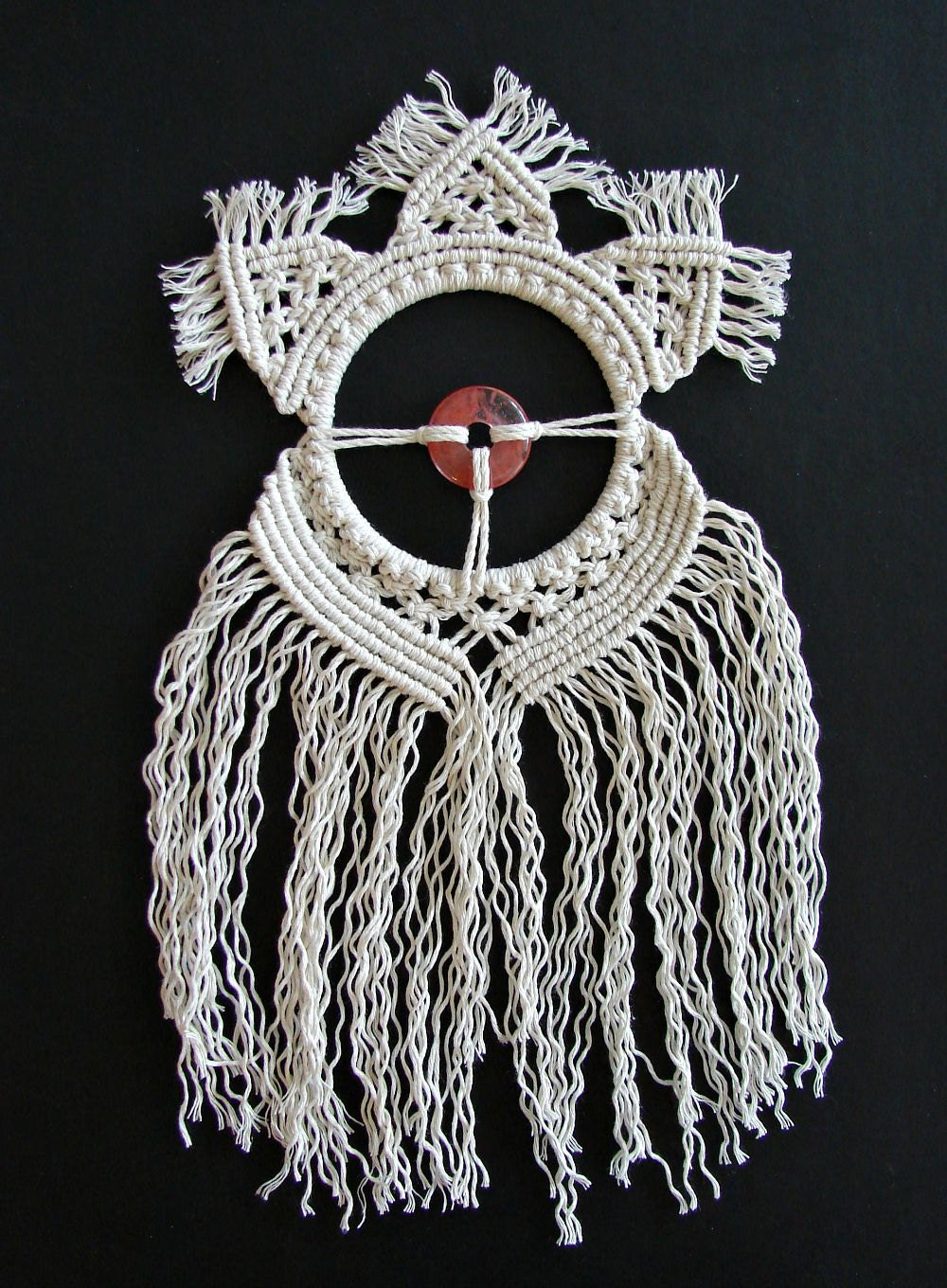 Macrame Wall Hanging Art Woven Wall Hanging Round By