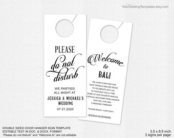 Modern thank you tags Wedding favor thank you tags DIY