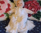 """Madame Alexander's Victoria Doll in a Christening Dress.  She is 14"""" tall"""