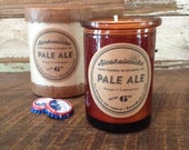 Pale Ale Candle by Alcoholwicks - Beer Candle - Ale Candle