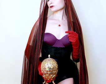 The Imperial Gift // Fashion Art // 8x10 signed photo print // Self Portrait Photography