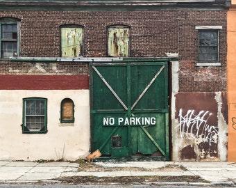Philadelphia Art, Minimal Photography, Modern Home, Rustic Art, Abandoned, Apartment Decor, Graffiti, Street Art, Loft Art, Bricks, Windows