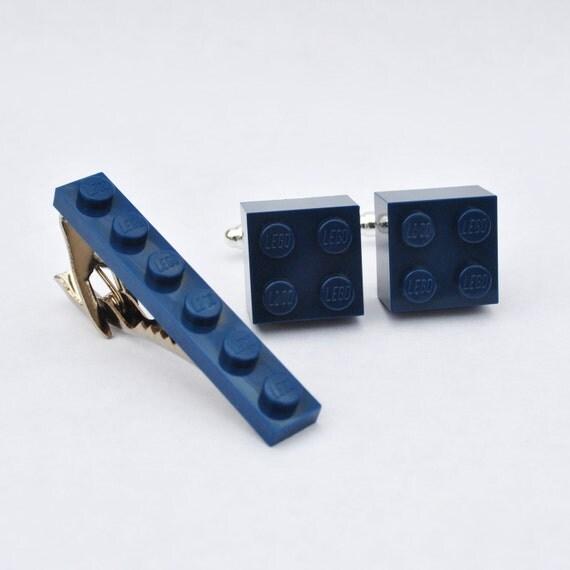Lego brique boutons de manchette et pince cravate cadeau - Mettre bouton de manchette ...