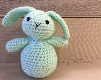 Big Bottom Bunny Amigurumi | Made to Order