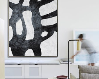 "Acrylic Painting, Original Art, Large Canvas Art. Abstract Painting, Modern Art Painting Geometric Art. 36""x48"", FREE Shipping to worldwide."