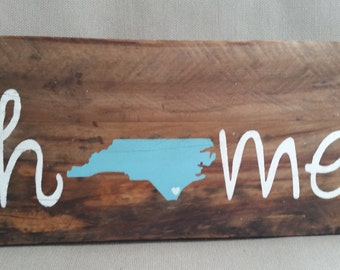 North Carolina Home Sign