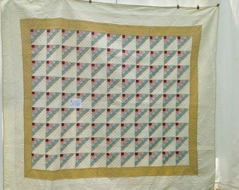 Lady of the Lake Antique Quilt c. 1930,  #3116