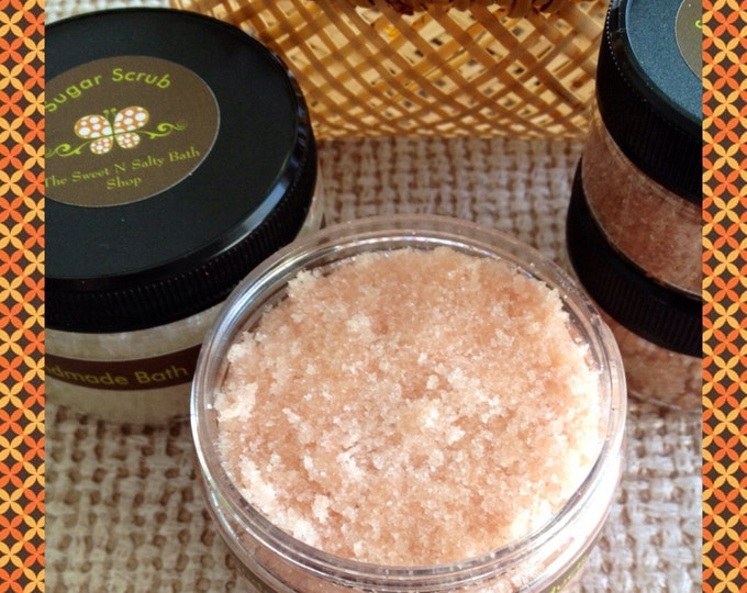 New!! Fall Scented Sugar Hand & Body Scrub-You Choose the Scent