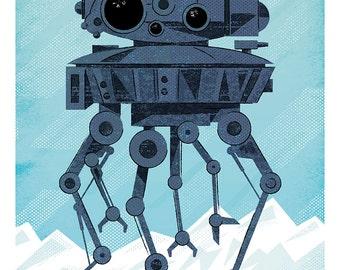 Probe Droid print 11x17