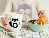 For Fox Sake Mug - Woodland Creature- Cute Mug- Popular Saying Mug- Fox