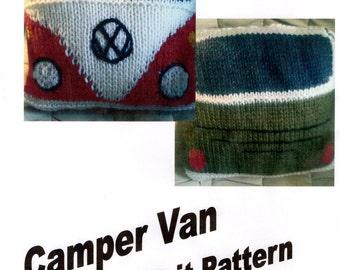 Loom Knit pattern for Camper Van