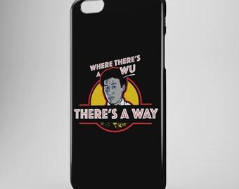 Dr Wu Jurassic World iPhone Case - Henry Wu Jurassic Park Phone Case - iPhone 6 Case Plus - iPhone 6 - iPhone 5 Case- iPhone 6s Case