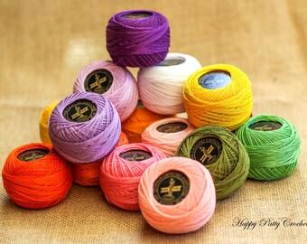 Cotton Thread Size #40 - VENUS Crochet Cotton Thread - 100% Mercerized Cotton Thread
