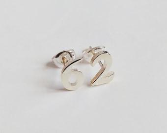 Initial Stud Earrings,Star Stud Earrings,Letter Stud Earring,Any One Initial,Number Stud Earring,Heart Studs Earring,%100 Handmade