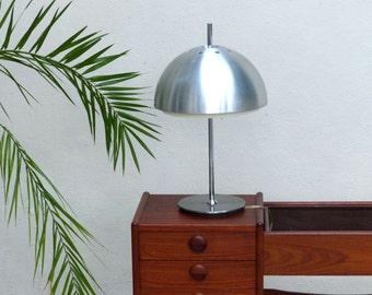 Desk vintage mushroom lamp - lamp 70s - seventies desk lamp