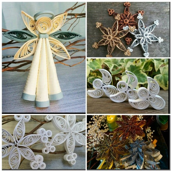 Complete Trim A Tree Package Of Handmade Paper Filigree