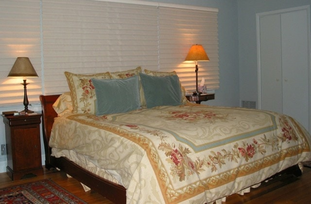 Grange france king size sleigh bed cherrywood louis - Grange louis philippe bedroom furniture ...