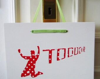 """Door sign """"Scorer"""""""
