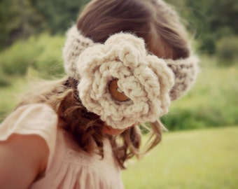CROCHET PATTERN - the Sylvia crochet headband