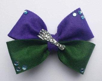 Disney, Ariel Little Mermaid, 'Dinglehopper' Inspired Hair Bow.