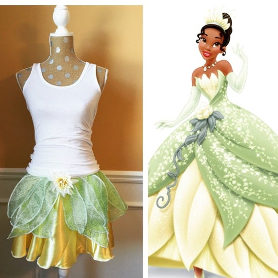 Princess Tiana Outfit: TIANA Princess And The Frog Inspired Running By