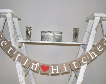 hitched banner etsy