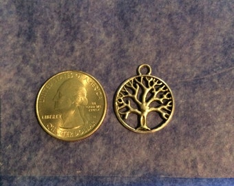Tree of Life, Peace Dove, Om, Ohm, Namaste, Peace Sign, Silver Charms, Bracelets,Tibetan Silver,Crafts, DIY,Jewelry,