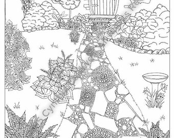Coloring Book for Grown-Ups Reach for the Stars adult