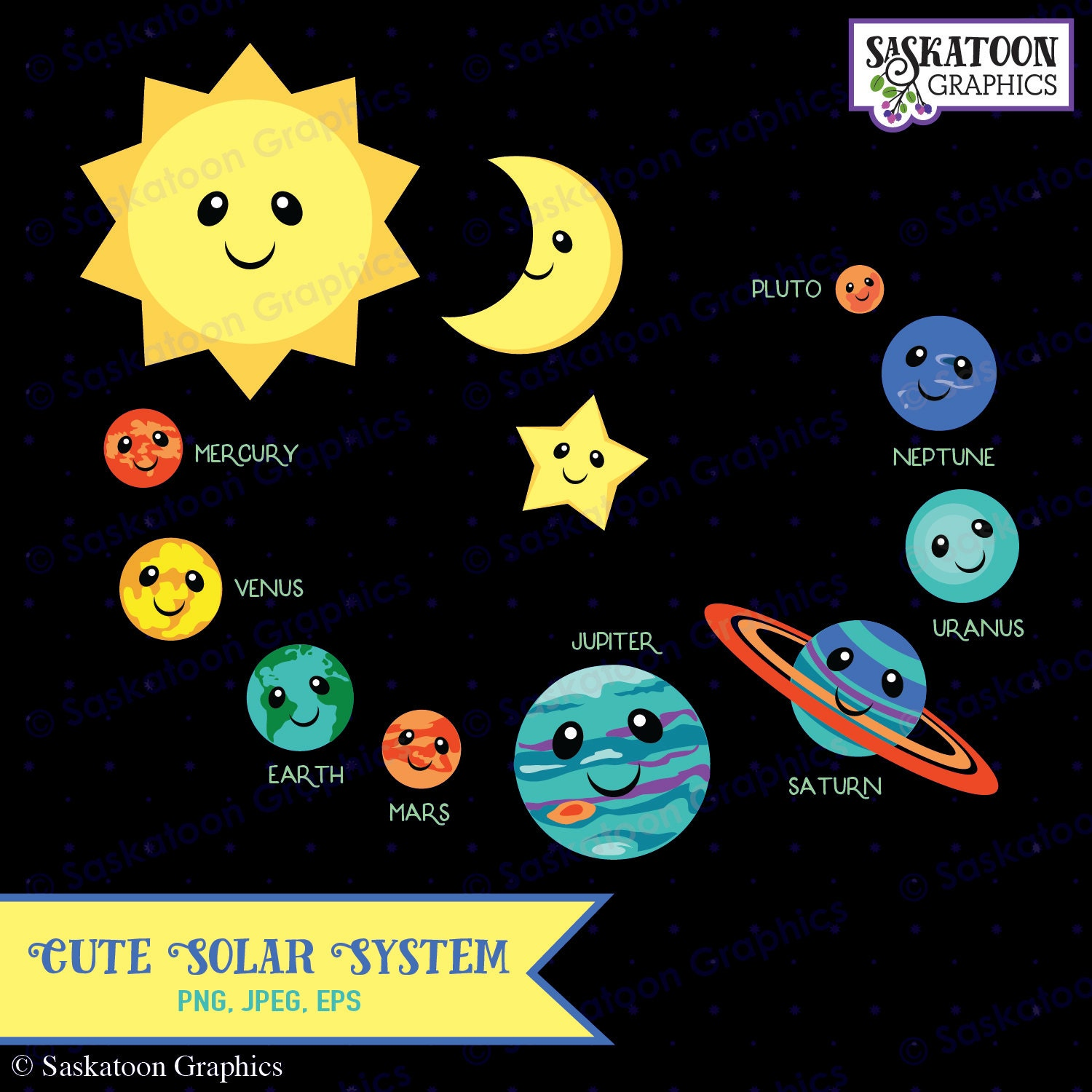 solar system clipart - photo #20