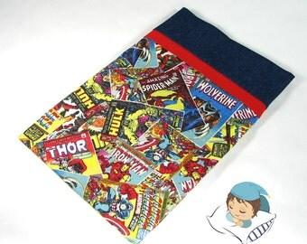 Marvel Avengers Retro Comic Pillow Case