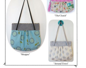 The Lovely Gathered Purse Trio