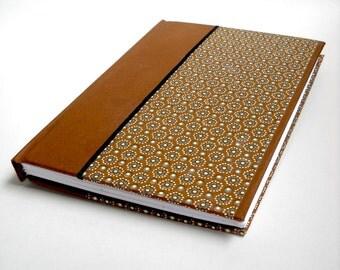 Brown Journal, Hardcover Journal, Diary, Handmade Journal