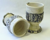 Two Circuit Board Wine Cups