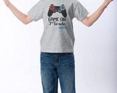 Back to School Shirt - Game On 3rd Grade T-Shirt - Choose Your Grade - Personalized Back to School Shirt - Video Games Gamer Shirt