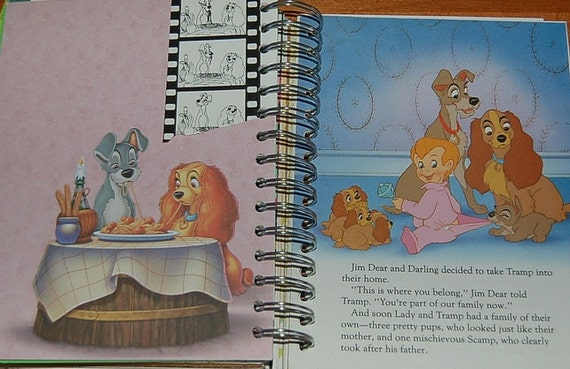 Disney Honeymoon Autograph Book Couples
