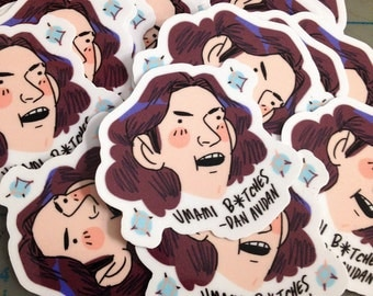 Dan Avidan // Game Grumps (Sticker)