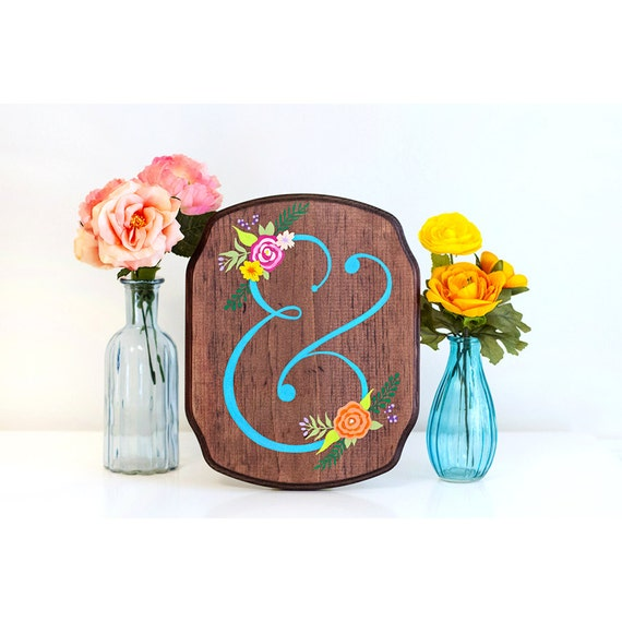 Items similar to ampersand wood sign ampersand art for Ampersand decoration etsy