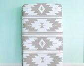 Crib Sheet Gray Kilim. Fitted Crib Sheet. Baby Bedding. Crib Bedding. Minky Crib Sheet. Crib Sheets. Gray Crib Sheet.