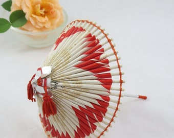 Vintage Cigarette Pack Umbrella, Wagasa Umbrella, Japanese Umbrella, Paper Umbrella, Winston Cigarette Pack Craft, Free Shipping,7PTT15